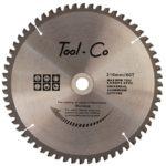 Tool-Co TCT Aluminium Blades - 250-x-30mm-25-4-20-16mm-x-80t