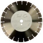 Tool-Co Asphalt / New Concrete Premium - Segmented - 350 x 3.2 x 15 x 25.4mm