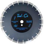 Tool-Co Hard Concrete Premium - Segmented Hard - 350 x 3.2 x 15 x 25.4mm