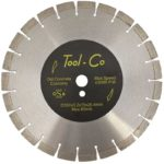 Tool-Co Old Concrete Yellow - Segmented - 350 x 3.2 x 15 x 25.4mm