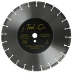 Tool-Co Old Concrete / Asphalt Multi Cut - Segmented - 350 x 3.2 x 10 x 25.4mm