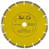 Tool-Co Segmented Yellow - segmented - 230-x-2-4-x-10-x-22-23mm