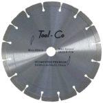 Tool-Co Segmented Premium - segmented - 230 x 2.4 x 10 x 22.23mm