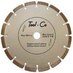 Tool-Co Segmented Silver - segmented - 230-x-2-4-x-10-x-22-23mm
