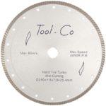Tool-Co Turbo Super Thin - turbo - 180 x 1.4 x 8 x 25.4mm