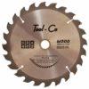 Tool-Co TCT Wood Blades - 160 x 20 x 16mm x 24T
