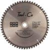 Tool-Co TCT Aluminium Blades - 210-x-30mm-25-4-20-16mm-x-60t