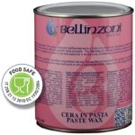 Bellinzoni Wax Paste - Wax Paste for Polishing - Black 930ml