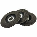 TriCraft Abrasive Flap Disc - 115 x 22.23mm x 40# - 5 pack/box of 200
