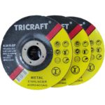 TriCraft Metal Abrasive Grinding Discs - 115 x 6.0 x 22.23mm - 5 pack/box of 25