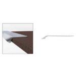 Carpet Tread Cover - Aluminium - 2.5m