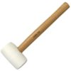 Rubber Mallets - Rubber Mallet White 340g