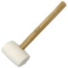Rubber Mallets - Rubber Mallet White 680g
