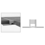 PVC Movement Joint - PVC Dark Grey - 10mm x 2.5m
