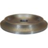 ½ Bullnose Milling Wheel Continuous Rim - Step 1(A) - Half Bullnose Milling Wheel - Continuous Rim - 8mm x 115mm