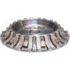 ½ Bullnose Milling Wheel Segmented - Step 1(B) - Half Bullnose Milling Wheel - Segmented - 10mm x 120mm
