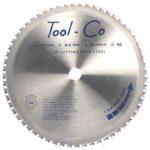 Tool-Co TCT Mild Steel Blades - 230 x 2.6 x 30mm x 48T