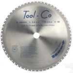 Tool-Co TCT Stainless Steel Blades - 355 x 2.4 x 25.4mm x 90T