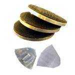 Velcro Adaptors - Scanmaskin 80mm Velcro adapter plate for SC650, SC700, SC800 and SC1000