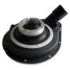 180mm Dust Shroud - 180mm Dust Shroud, Makita & Hitachi