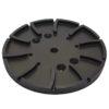 250mm Floor Grinding Heads - 25# - Black - Course Grinding Economy - 250mm x 12mm x 15 Segment