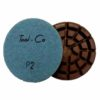 Tool-Co Diamond Concrete Polishing Pads - 80mm x P2 - Soft Concrete - Wet Only
