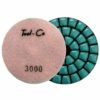Tool-Co Diamond Marble Polishing Pads - 100 x 2mm x 3000#