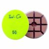 Tool-Co Diamond Heavy Duty Polishing Pads - 80mm x 50# Light Green