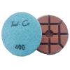 Tool-Co Diamond Heavy Duty Polishing Pads - 80mm x 400# Light Blue