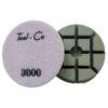 Tool-Co Diamond Heavy Duty Polishing Pads - 80mm x 3000# Pink