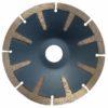 Tool-Co T-Segmented Concave Blades - 125 x 3.5 x 8 x 22.23mm - Economy