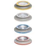 ½ Bullnose Wheels For Polishing Step 3 - ½ Bullnose Polishing Wheel - R.30mm x 800#