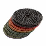 Tool-Co Wet Polishing Pads Professional 100mm x 3mm - 100 x 3mm - 100 x 3mm x 50# Brown