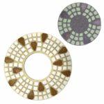 Tool-Co Diamond Floor Polishing Pads - 240mm x 50#