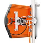 Husqvarna WS482 High Frequency Wall Saw - Wall Saw with 1000mm blade guard