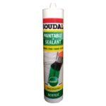 Soudal Paintable Sealant Acrylic - 270ml - White
