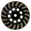 Tool-Co Segmented Cup Grinder Premium 115mm - Med Floor Black - 115mm x M14 x 120#