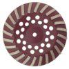 Tool-Co Segmented Cup Grinder Premium 180mm - Med Floor Brown - 180mm x M14 x 80#