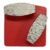 Diamond Grinding Plates - Soft Floor 16# - Red