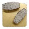 Diamond Grinding Plates - Soft Floor 25# - Gold
