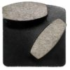 Diamond Grinding Plates - Medium Floor 120# - Black