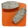 Diamond Grinding Plates - Extra Hard Floor 25# - Orange