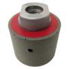 Tool-Co Drum Wheels D50 x 40mm Grinding & Polishing - D50mm x 40mm x M14 - 400# Red