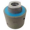 Tool-Co Drum Wheels D50 x 40mm Grinding & Polishing - D50mm x 40mm x M14 - 1500# Blue
