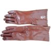 Gloves - PVC Red Elbow Gloves - 40 Density
