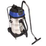 80L Stainless Steel Drum Vacuum - Wet/Dry 2 Motor - 80L Filter Bag