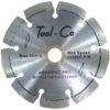 Tool-Co Segmneted Abrasive Pro - segmented - 115 x 2.1 x 8.5 x 22.23mm